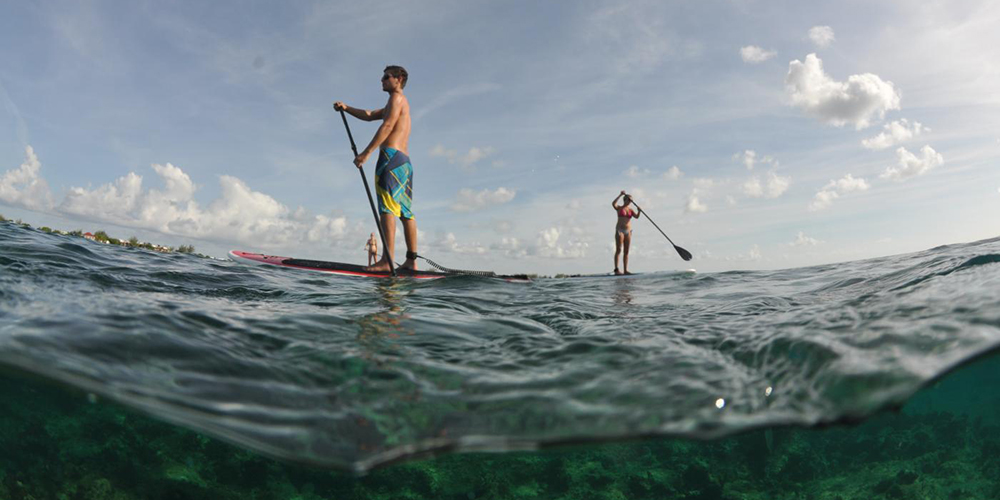 out-paddleboarding