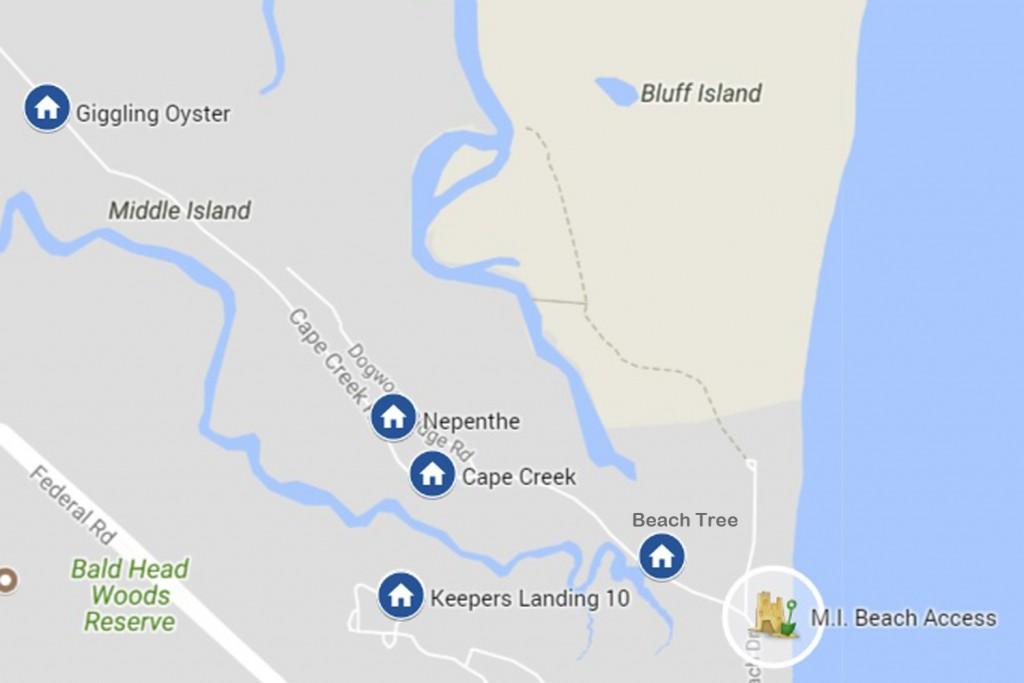 Nepenthe Tiffanys Beach Properties